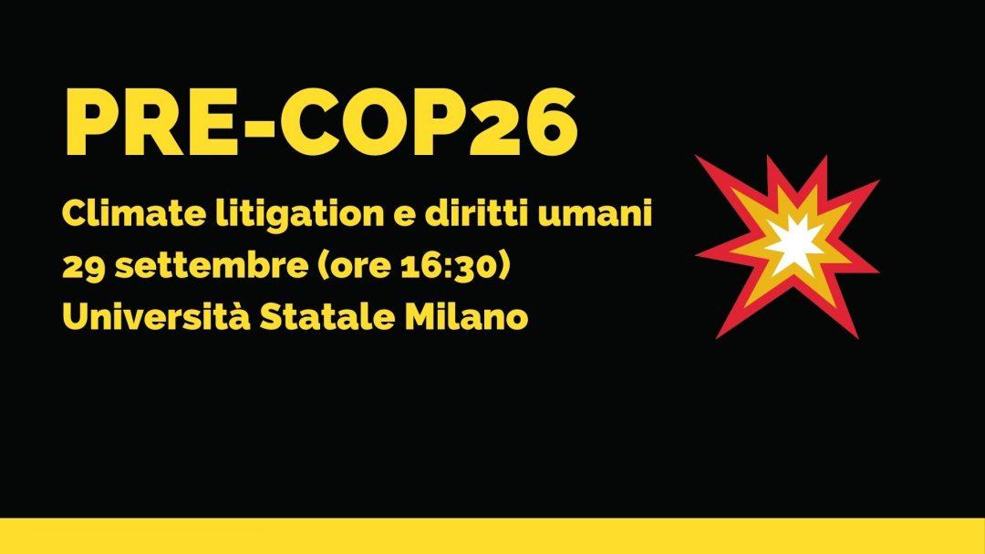 Climate litigation e diritti umani